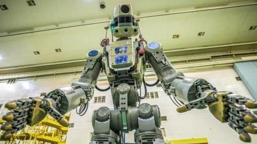 向太空進發!俄羅斯會開玩笑的機器人已進入飛船內