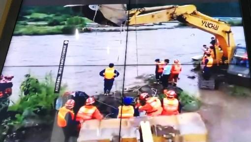 9小时生死营救!汪清一村民被困200米宽河道中