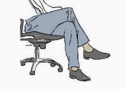 常跷二郎腿危害多 如何改掉坏习惯