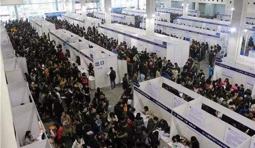 万博手机注册省人才市场高校毕业生招聘会 提供近3000个岗位