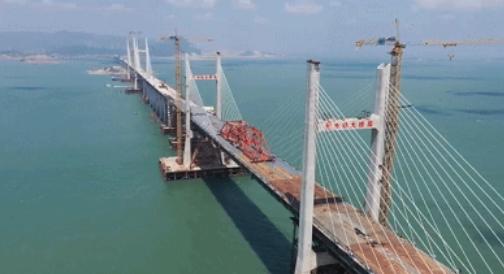 卫星图告诉你,世界最长跨海公铁大桥什么样