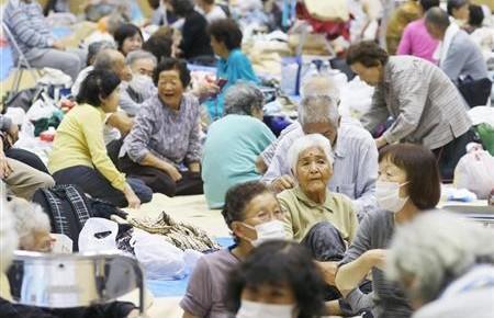 """台风""""海贝思""""已致日本36人死亡 76万人接到避难指示"""