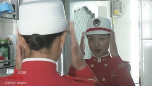 参加国庆阅兵的通化女孩,真美!