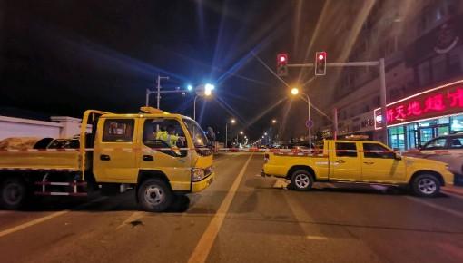 最新进展丨长春市大马路燃气泄漏连夜抢修