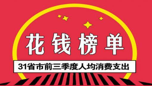 哪里居民最能買買買?前三季京滬人均花錢超3萬
