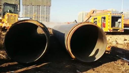 快訊丨長春一供熱主管線被挖斷 這些小區供熱受影響