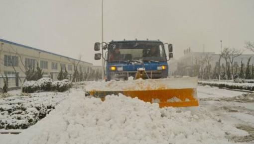 未来两天有暴雪 长春环卫力争周一早上快速路和主街路无积雪