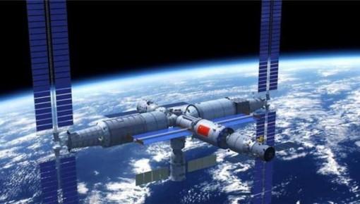 中国计划2022年前后建成空间站 规模百吨可载3人