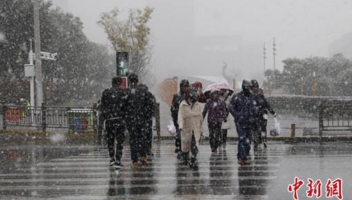 北方地区雨雪降温中迎立冬 多地开启供暖季