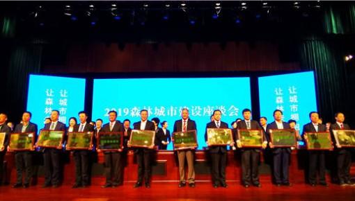 好消息!敦化市被國家林業局授予國家森林城市稱號