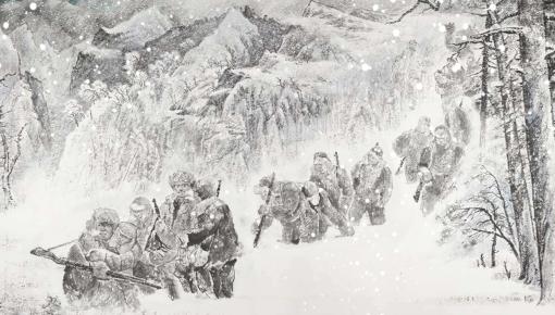 甘洒热血写春秋丨人民英雄杨靖宇百米组画·第七篇章 转战长白