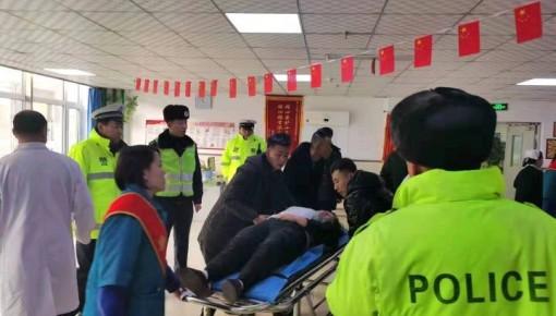農安:患者過量服藥中毒 交警一路護送就醫