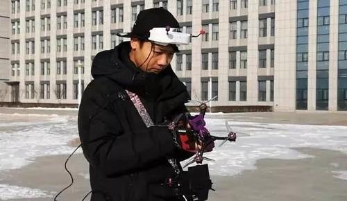 厲害!長春大四學生設計的3D打印競速無人機出名了