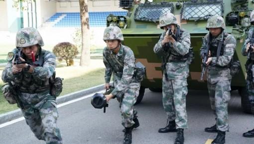 走進駐澳門部隊,帶你看新時代霓虹燈下的哨兵