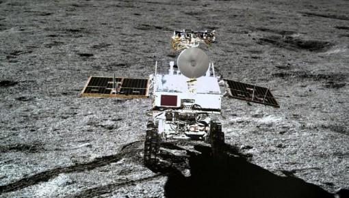 """""""玉兔二号""""破纪录了!成为在月面工作最久月球车"""