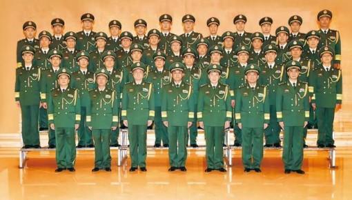 中央军委批准:武警部队1人晋升中将36人晋升少将