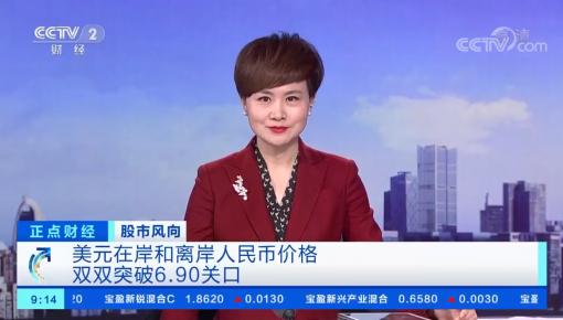 人民币升破6.90关口! 28天暴涨近1900点!来看看春节出国你能省多少钱?
