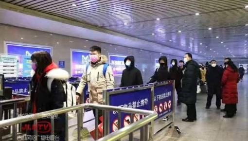 春运第19天 沈阳局发送旅客同比减少58%