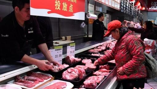 農業農村部:春節豬肉供需平穩 讓老百姓放心吃肉