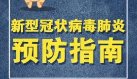 """""""微""""提醒:新型冠状病毒肺炎预防指南"""