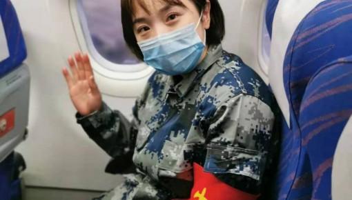 28个月女儿 为驰援武汉的护士妈妈加油