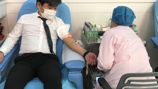 团员青年勇担当 无偿献血助力战疫