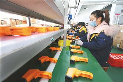 中国企业全力支援抗击疫情