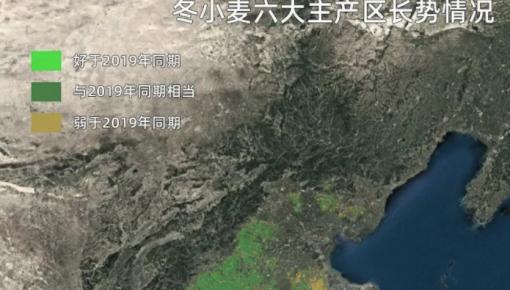 卫星发现一个信号:中国耕地正在绿起来