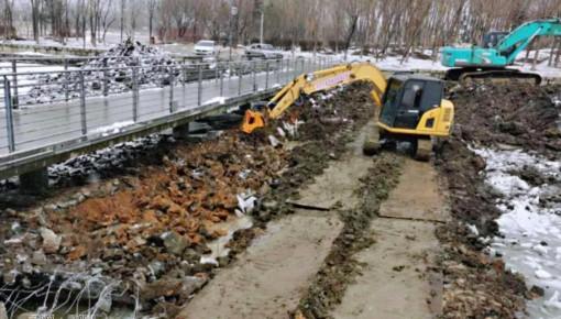 长春市启动伊通河城区段综合环境卫生整治