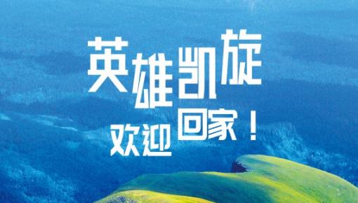 【海报图集】致敬最美逆行 迎接英雄凯旋