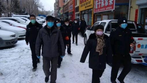 长春市监局朝阳分局开展餐饮服务单位专项检查行动