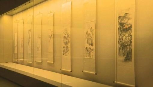 """吉林省博物院""""南张北溥""""书画特展开展"""