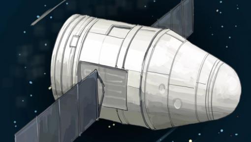 我國新一代載人飛船試驗船返回艙成功著陸