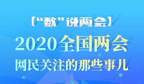 """【""""数""""说两会】2020全国两会 网民关注的那些事儿~"""