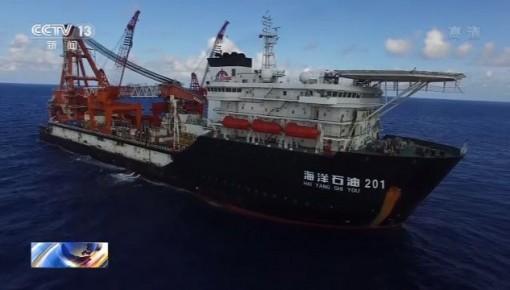我国最大水深海底管线铺设项目完工