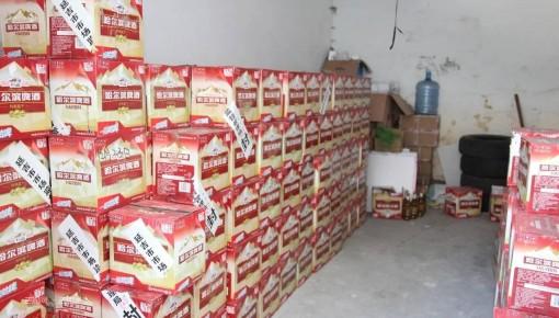 过期啤酒涂抹瓶身 延吉市市场监督管理局销毁236箱啤酒