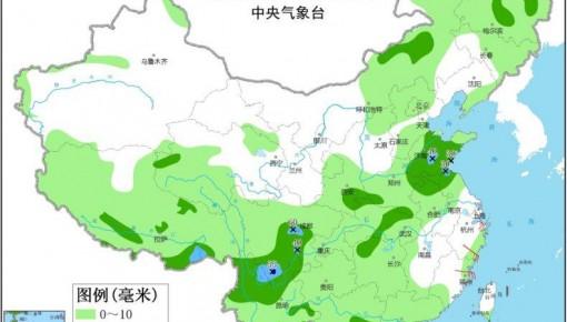 中央气象台:四川盆地有强降水 华北和东北地区多阵雨或雷阵雨