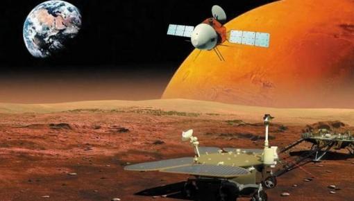 天問一號探測器累計飛行1億千米