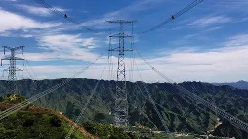 100%清潔能源供電!張北-雄安特高壓交流工程投運