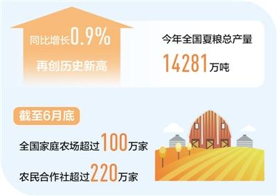 上半年农业增加值同比增长3.8% 守稳农业基本盘 粮食丰收有保障