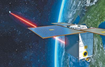 """""""行云二号""""成功验证星间激光链路技术 我国实现星间激光通信零的突破"""