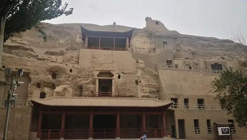 來!感受下敦煌石窟文物保護的高科技