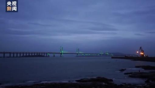 中國橋梁又創奇跡!世界最長跨海公鐵兩用大橋試通車