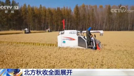 北方各糧食主產區積極組織搶收快收 確保糧食顆粒歸倉