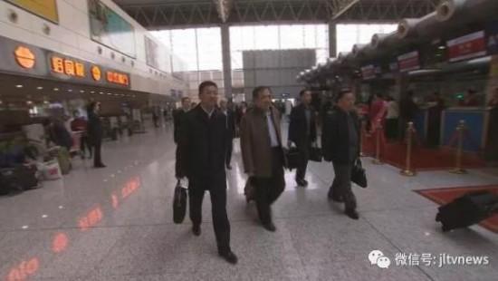 吉林省出席党的十九大代表赴京
