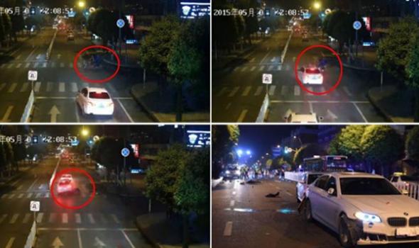 长春同志街车祸续:俩司机都称感觉时速约70公里