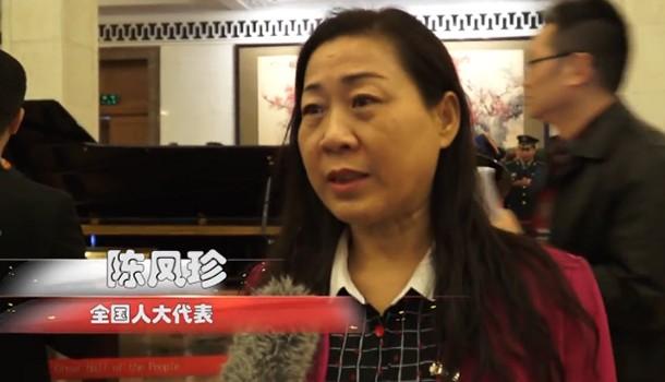 全国人大代表陈凤珍:为人民做好代表