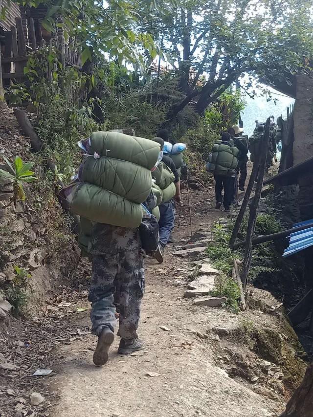 云南怒江:7000余名干部奋战一线 不让一个群众因灾返贫
