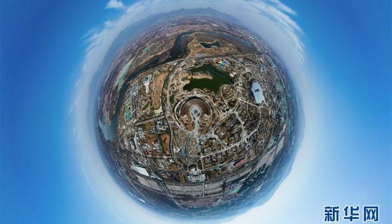 天空之眼瞰北京世园会园区